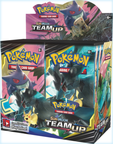 Sun & Moon: Team Up Booster Display_boxshot
