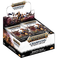 Warhammer Age of Sigmar: Champions TCG - Booster display