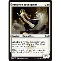 Ministrant of Obligation