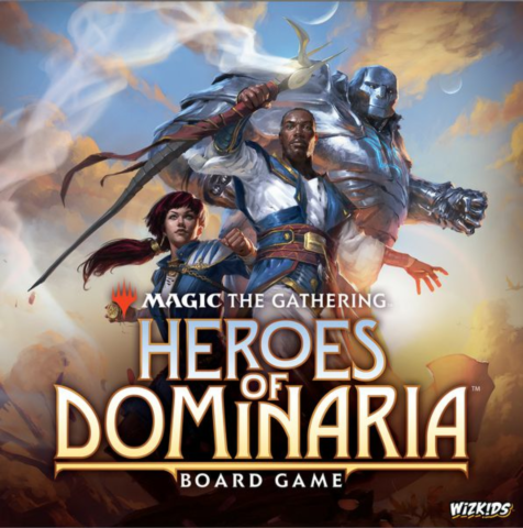 Magic: The Gathering: Heroes of Dominaria Board Game Standard Edition_boxshot