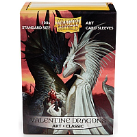 Dragon Shield - Classic: Valentine Dragons (100)