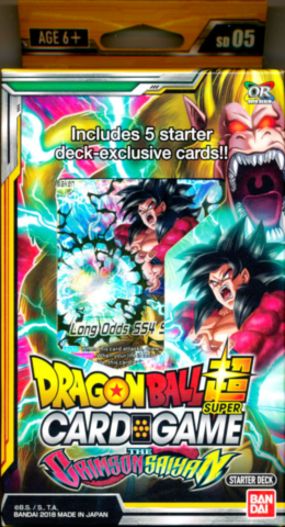 Dragon Ball Super Card Game - The Crimson Saiyan_boxshot