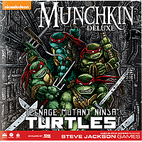 Munchkin Teenage Mutant Ninja Turtles Deluxe