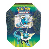 Spring 19 GX Elemental Power Tin - Vaporeon GX