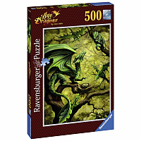 Forest Dragon 500 Piece Puzzle