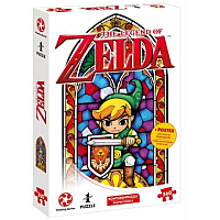 The Legend of Zelda Jigsaw Puzzle Link The Hero of Hyrule