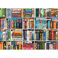 Board Game Shelfie 1000 Piece Puzzle