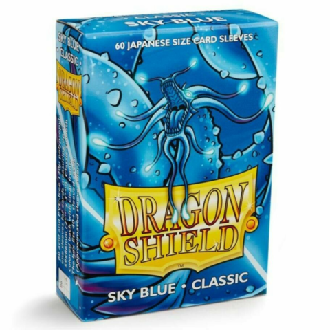 Dragon Shield Small Sleeves - Japanese classic Sky Blue (60 Sleeves)_boxshot