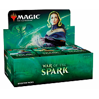 War Of The Spark  Booster Display