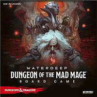 D&D: Waterdeep - Dungeon Of The Mad Mage Boardgame