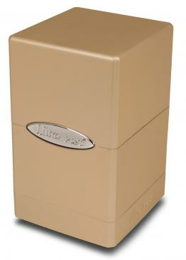 Satin Tower Deck Box: Metallic Caramel_boxshot