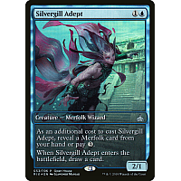 Silvergill Adept ( Foil ) (Rivals of Ixalan Open House) (Full-Art)