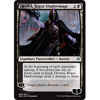 Davriel, Rogue Shadowmage ( Foil ) (War of the Spark Prerelease)
