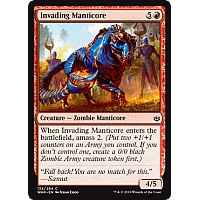 Invading Manticore