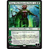 Nissa, Who Shakes the World ( Foil )