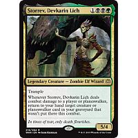 Storrev, Devkarin Lich ( Foil ) (War of the Spark Prerelease)