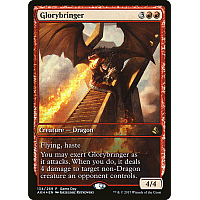 Glorybringer ( Foil ) (Amonkhet Game Day) (Full-Art)
