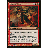 Inferno Titan (Duels of the Planeswalkers 2012) (PS3)