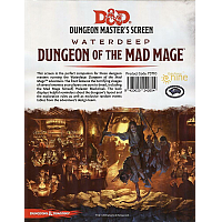 D&D Dungeon Master's Screen: Waterdeep Dungeon of the Mad Mage