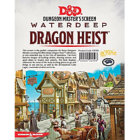 D&D Dungeon Master's Screen: Waterdeep Dragon Heist