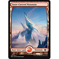 Snow-Covered Mountain ( Foil )