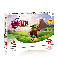 The Legend of Zelda Jigsaw Puzzle Ocarina of Time
