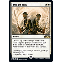 Brought Back ( Foil ) (Core Set 2020 Prerelease)