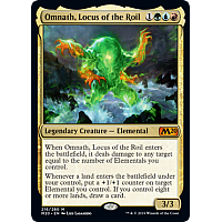 Omnath, Locus of the Roil ( Foil ) (Core Set 2020 Prerelease)