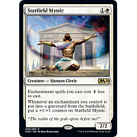Starfield Mystic ( Foil ) (Core Set 2020 Prerelease)