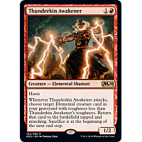 Thunderkin Awakener ( Foil ) (Core Set 2020 Prerelease)