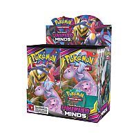 Sun & Moon: Unified Minds Booster Display (36 boosters)