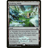 Evolving Wilds ( Foil ) (Rivals of Ixalan League)