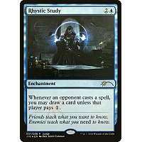 Rhystic Study ( Foil ) ( Judge )