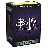 Dragon Shield Classic Art Sleeves - Buffy the Vampire Slayer - Buffy Crest (100 Sleeves)