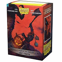 Dragon Shield  Art Sleeves - Halloween Dragon (100 Sleeves)