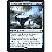 The Cauldron of Eternity ( Foil ) (Throne of Eldraine Prerelease)