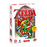 The Legend of Zelda Jigsaw Puzzle Link Wind's Reqiuem