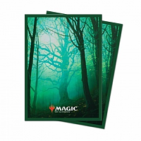 UP - Standard Deck Protector - Unstable Lands Forest (100 Sleeves)