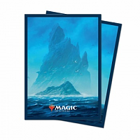 UP - Standard Deck Protector - Unstable Lands Island (100 Sleeves)