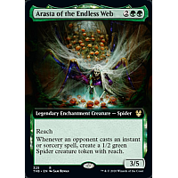 Arasta of the Endless Web ( Foil ) (Extended art)
