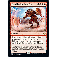 Deathbellow War Cry ( Theme Booster Exclusive )