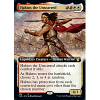 Haktos the Unscarred ( Foil ) (Extended art)