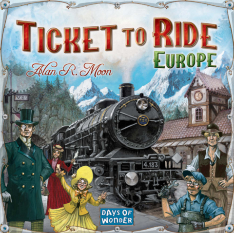 Ticket to Ride: Europe (Sv)_boxshot