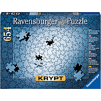 Ravensburger Krypt Silver 654 Piece Blank Jigsaw Puzzle