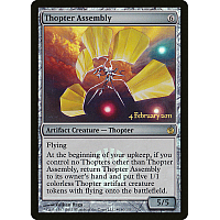 Thopter Assembly (Mirrodin Besieged Launch, Foil)