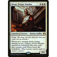 Hixus, Prison Warden ( Foil ) (Magic Origins Intro Pack)