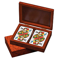 Rommé-Poker-Playing Cards, in box (6651)