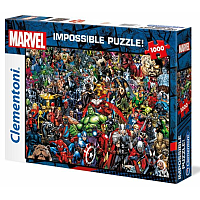 1000 pcs:  Marvel 80th Anniversary Impossible Puzzle Characters