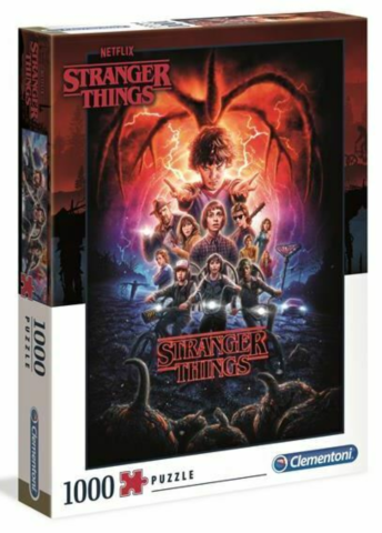 1000 bitar - High Color Collection Stranger Things_boxshot