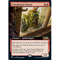 Conspicuous Snoop (Extended art)